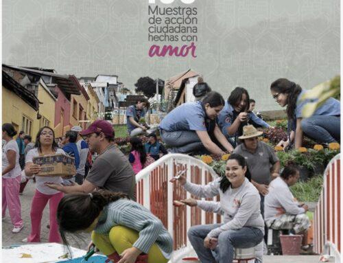Convocatoria 100 muestras de acción ciudadana hechas con amor