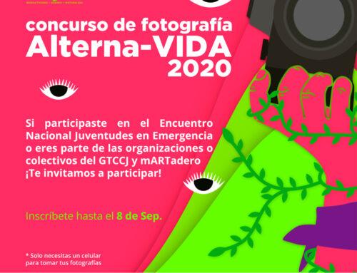 Concurso de Fotografía Juventudes y Alterna-Vida
